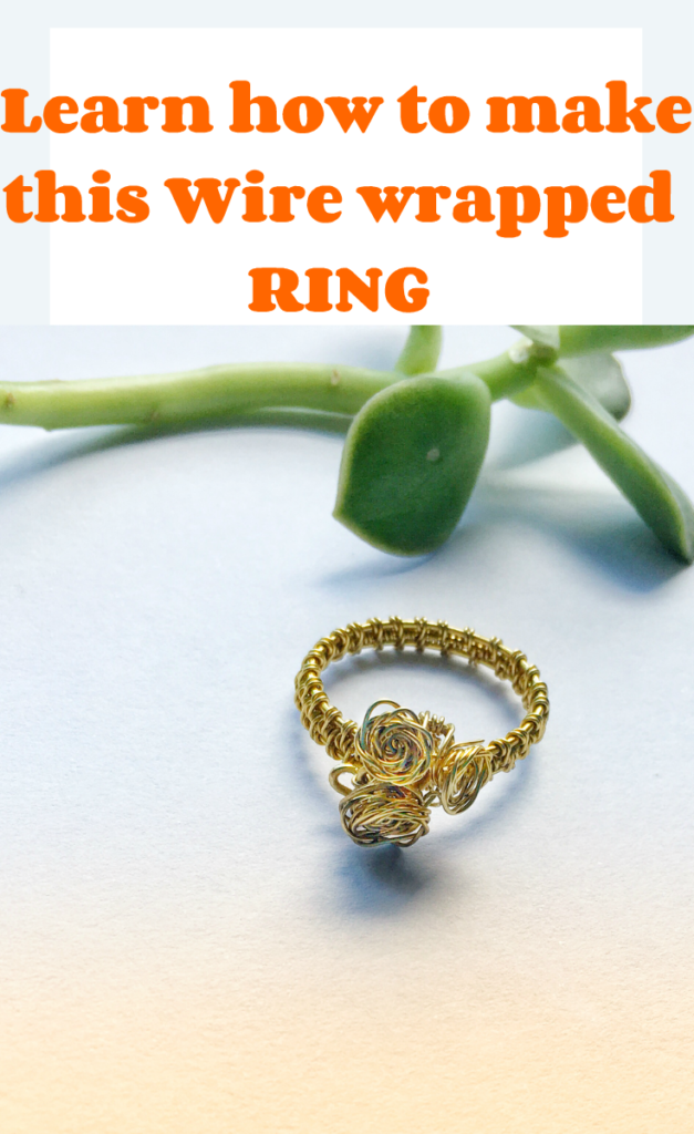 Learn how to make this wire wrapped ring