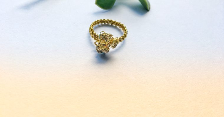 Fix a ring fail. Wire wrapped ring tutorial