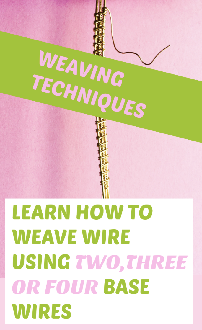 Different types of wire weaves