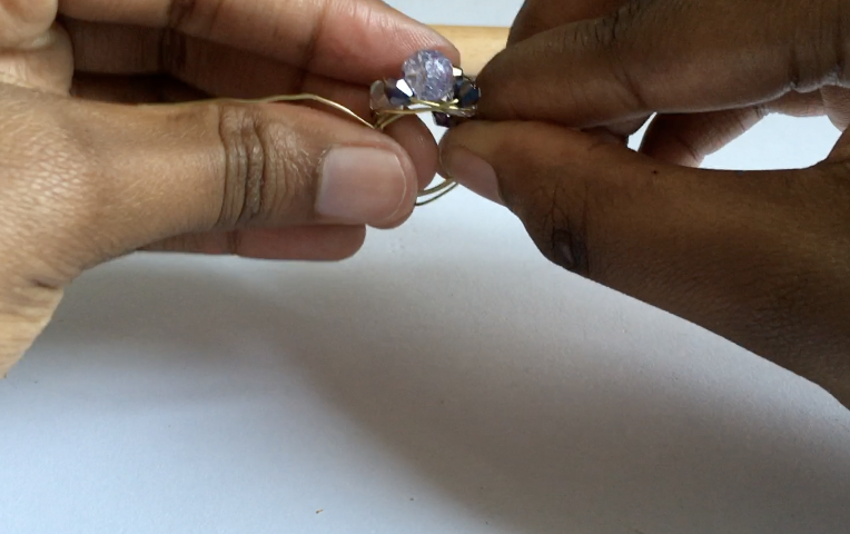 diy wire ring. Wire wrapped ring tutorial