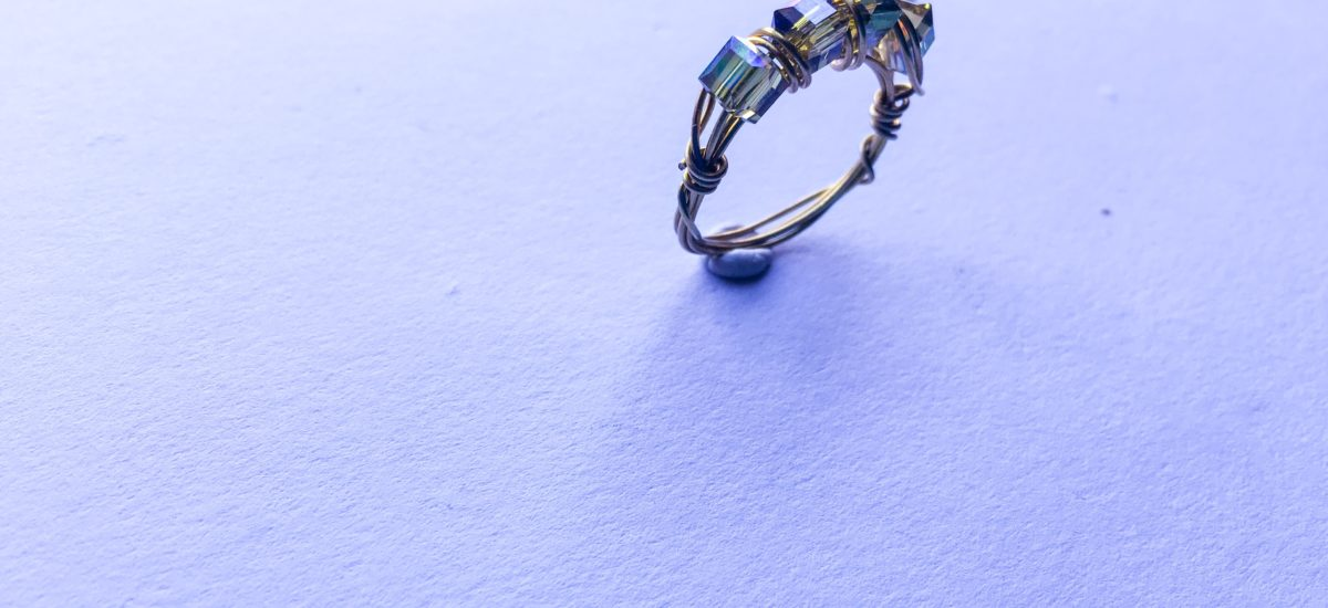 Half Eternity Ring band | Wire wrapping tutorial