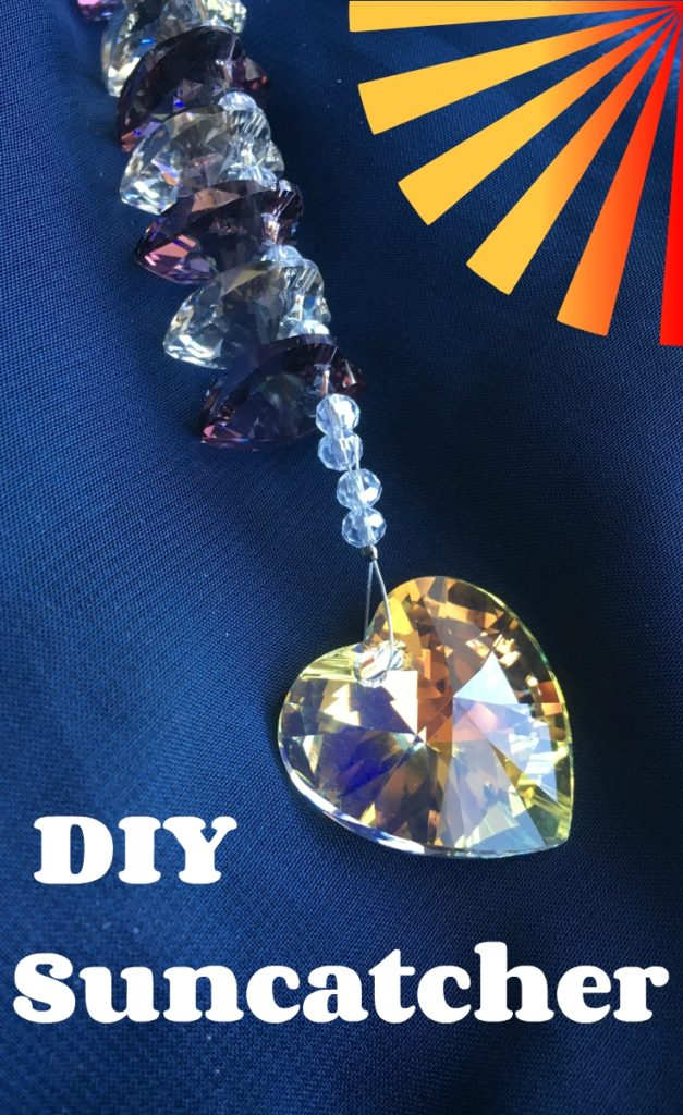 DIY sun catcher. How to make a suncatcher