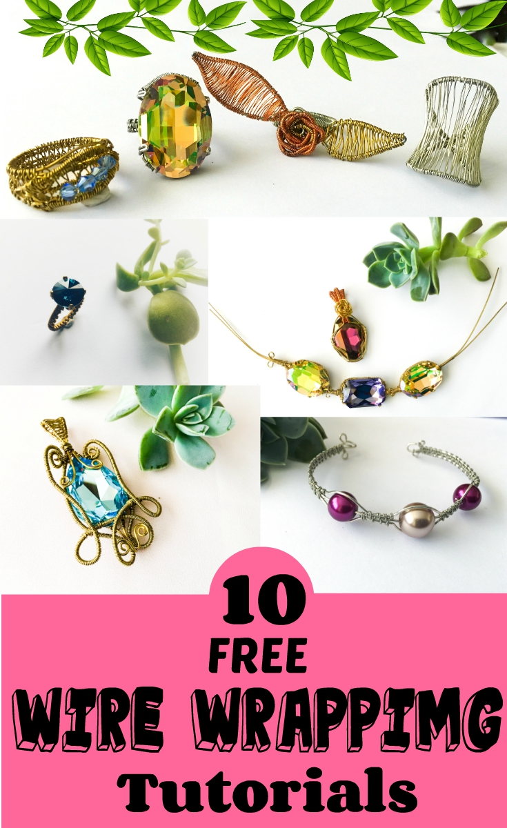 Free wire wrapping tutorials