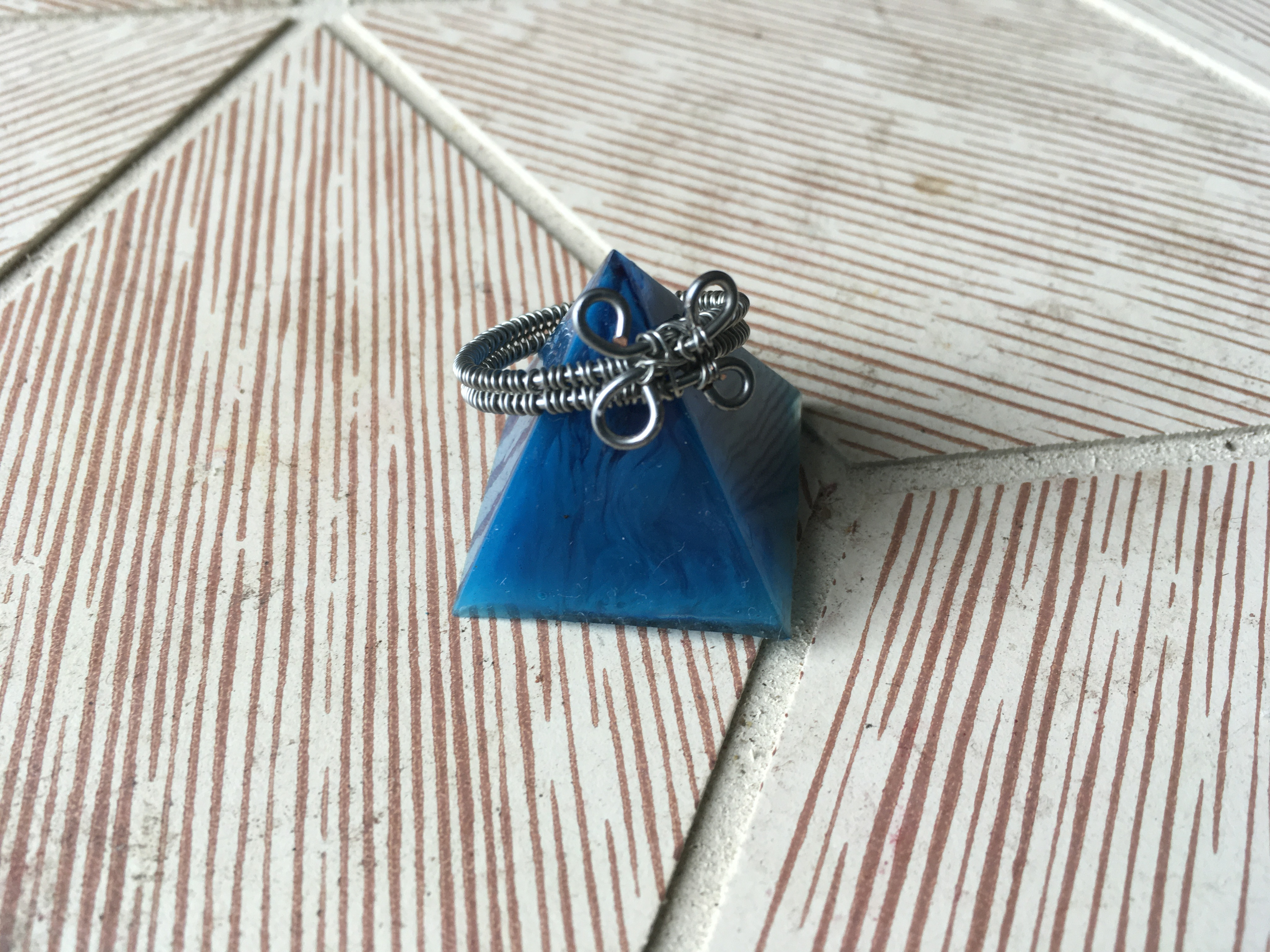 Basic Wire wrapped ring blank