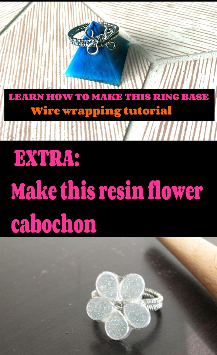 Wire wrapping tutorial ring blank